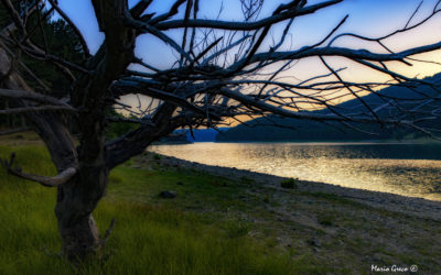 Sila- Una sera sul lago Ampollino