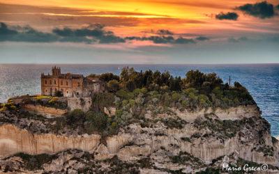 Tropea-Una vecchia foto di Santa Maria dell'Isola