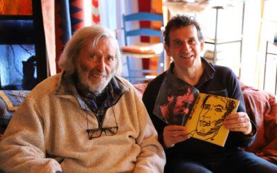 Il grande Nik Spatari fa omaggio di un  ritratto al fotografo Mario Greco