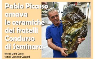 Pablo Picasso amava le ceramiche dei fratelli Condurso di Seminara
