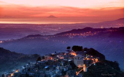 Una sera dal monte Tiriolo – Presila catanzarese