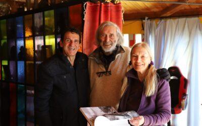 Mario Greco con Nik e Hiske Spatari