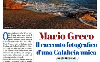 Supplemento Domenicale di CALABRIA.LIVE dedicato a Mario Greco.